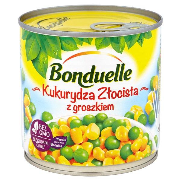 Kukurydza Bonduelle z groszkiem