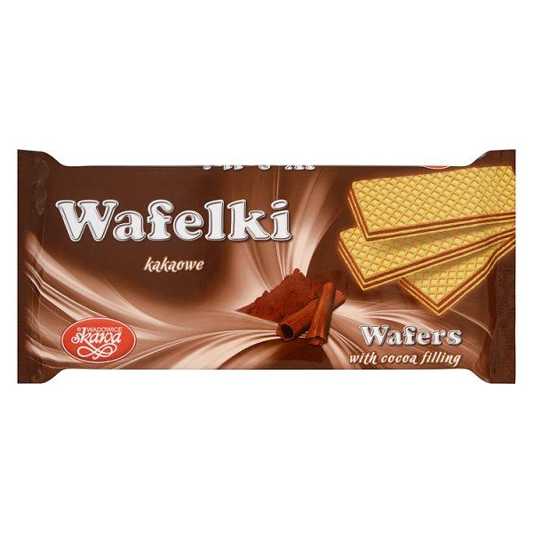 Wafelki Skawa kakaowe