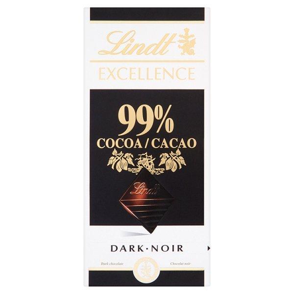 Czekolada Lindt Excellence 99% cacao
