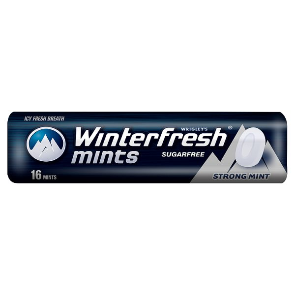 Cukierki Winterfresh Strong Mints 16 drażetek