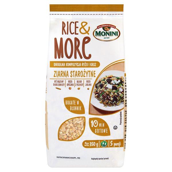 Rice&More ziarna starożytne Monini płomiennie rudy