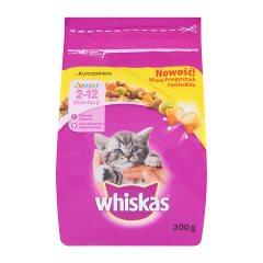 Whiskas Junior z kurczakiem Karma pełnoporcjowa 2-12 miesięcy 300 g