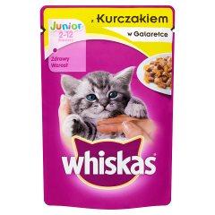 Karma Whiskas Junior (k) z kurczakiem w Galaretce