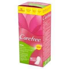 Carefree Aloe Wkładki higieniczne 20 sztuk