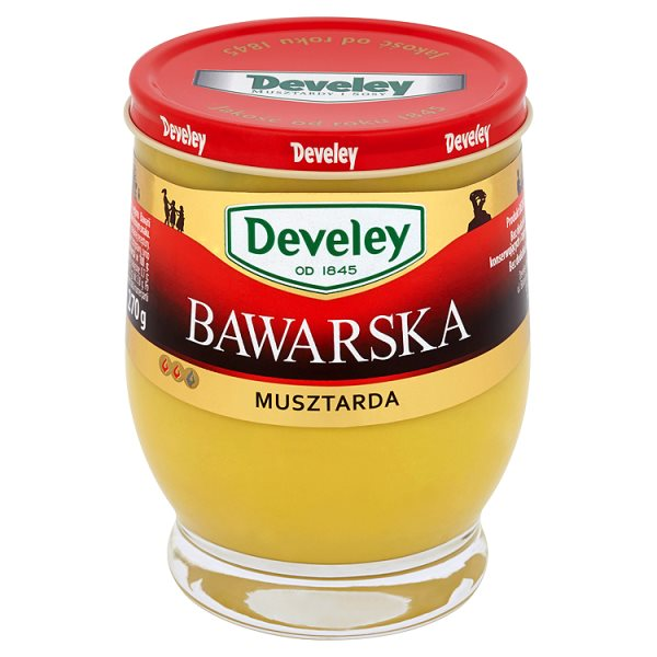 Musztarda Develey bawarska