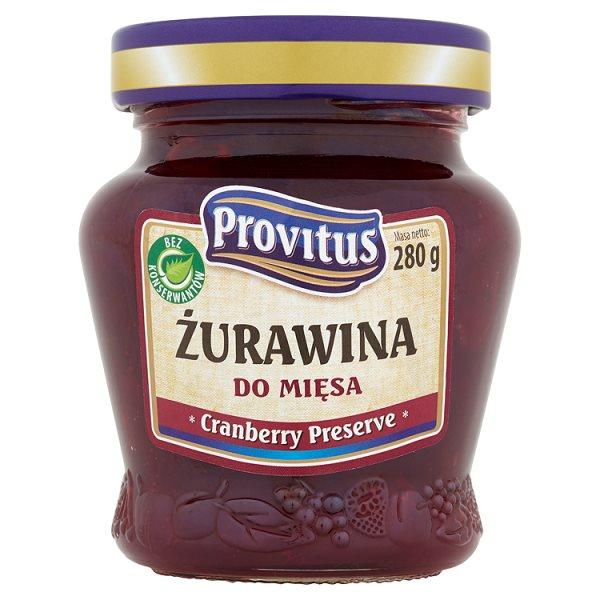 Provitus Żurawina do mięsa 280 g