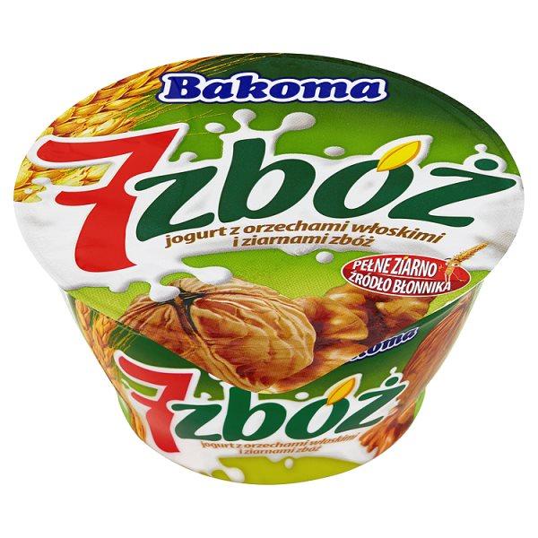 Jogurt Bakoma 7 zbóż z orzechami włoskimi