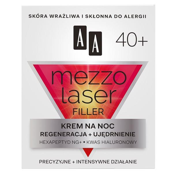 AA Mezzolaser 40+ Krem redukujący zmarszczki na noc