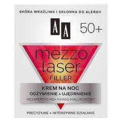 AA Mezzolaser 50+ Krem regenerujący na noc