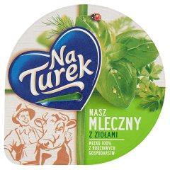 Serek na turek nasz mleczny z ziołami