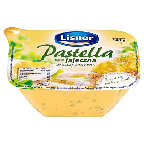 Pasta Pastella Lisner jajeczna ze szczypiorkiem