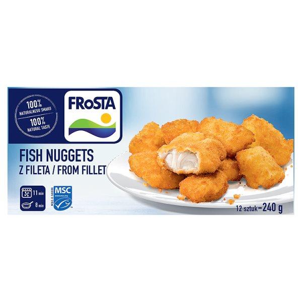 Kotleciki rybne Fish Nuggets w panierce Frosta