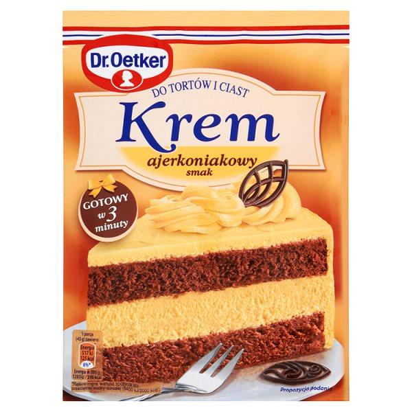 Krem do tortów Dr.oetker ajerkoniakowy