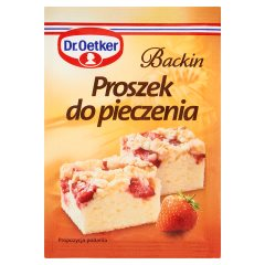 Dr. Oetker Backin Proszek do pieczenia 15 g
