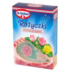 Ozdoby Dr.Oetker kolorowe różyczki