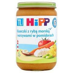 Danie Hipp    kluseczki z rybą i warzywami w pomidorach