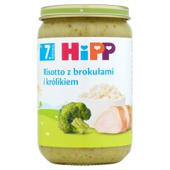HiPP Risotto z brokułami i królikiem po 7. miesiącu 220 g