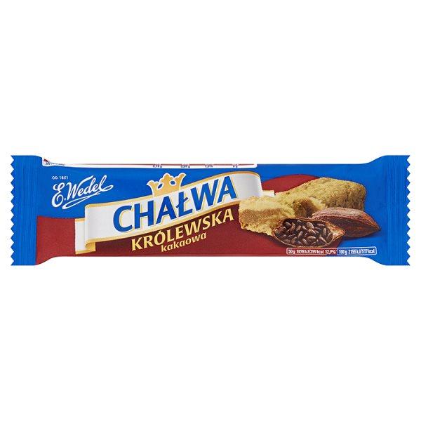 Chałwa Wedel kakaowo - waniliowa