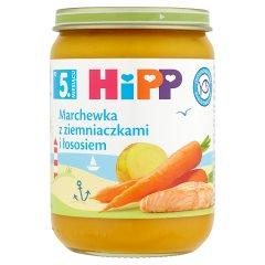 HiPP Marchewka z ziemniaczkami i łososiem po 5. miesiącu 190 g