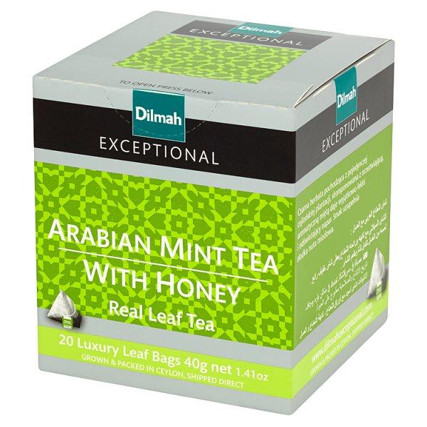Herbata Dilmah exceptional aromat mięty i miodu
