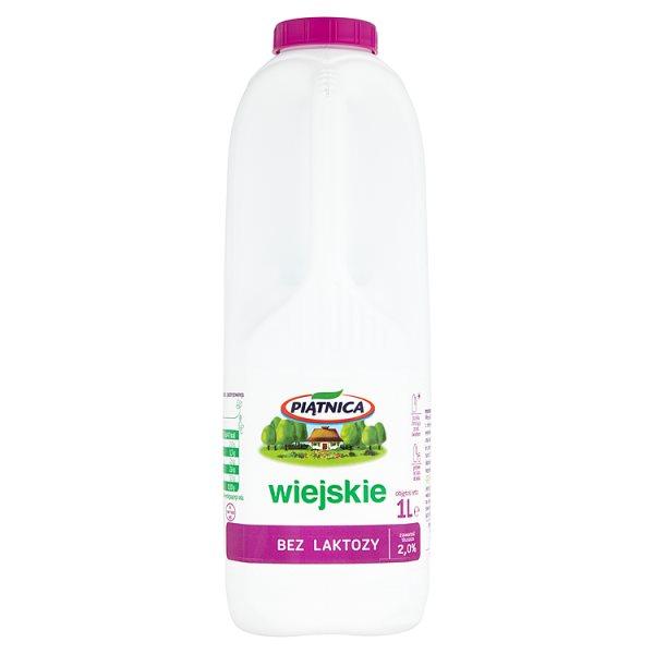 Mleko wiejskie bez laktozy butelka