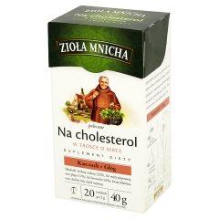 Big-Active Zioła Mnicha Na cholesterol Suplement diety Herbatka ziołowa 40 g (20 torebek)