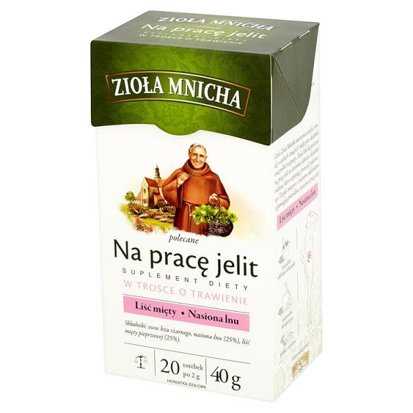 Herbata Zioła Mnicha na pracę jelit