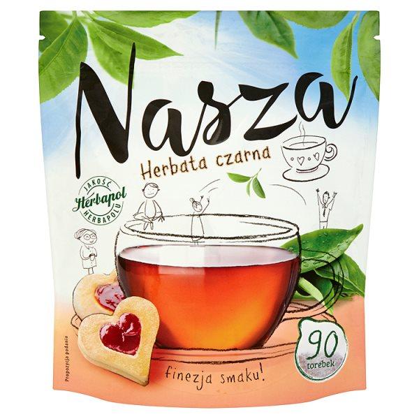 Herbata Nasza czarna 90*1,2g