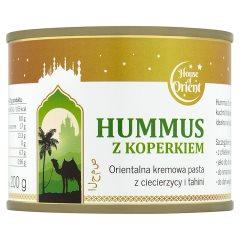 Hummus z koperkiem puszka