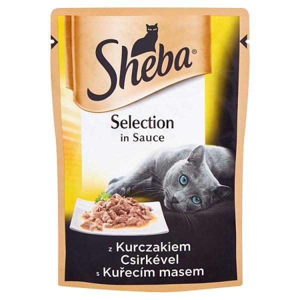 Karma Sheba Delikatne mini fileciki z kurczakiem w sosie