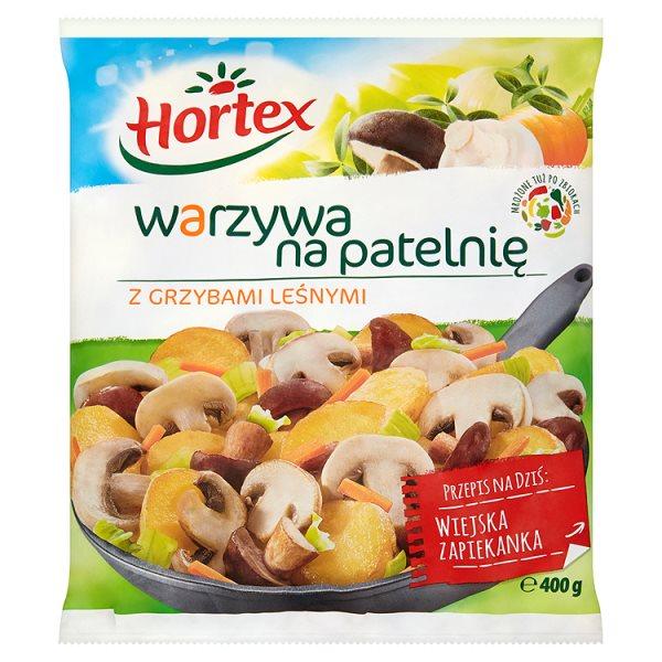 Warzywa na patelnie z grzybami leśnymi Hortex