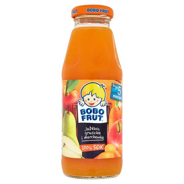 Sok Bobo Frut Junior jabłko, marchew, gruszka