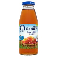 Sok Gerber jabłko,wiśnia