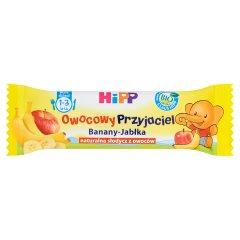 HiPP BIO Owocowy Przyjaciel Banany-Jabłka Batonik dla małych dzieci 1-3 lata 25 g