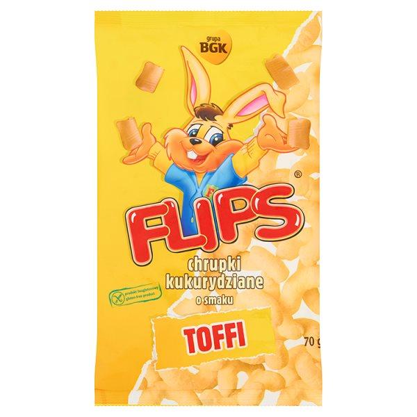 Chrupki Flips toffi
