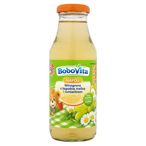 Napój Bobovita winogrona z łagodną melisa i rumiankiem