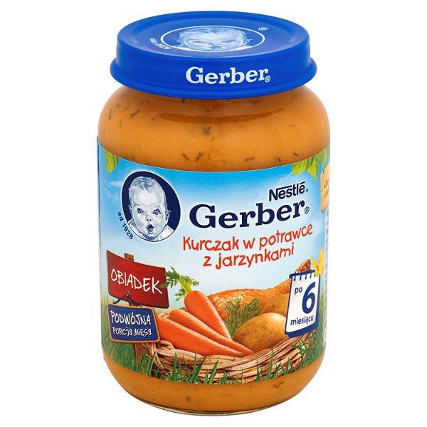 Danie Gerber kurczak w potrawce z jarzynami