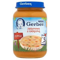 Zupka Gerber jarzynowa z cielęcinką
