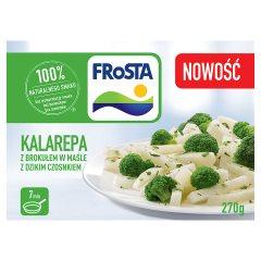 Kalarepa z brokułem w maśle dzikim czosnkiem Frosta