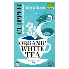 Herbata Clipper Organiczna Biała 25*2g
