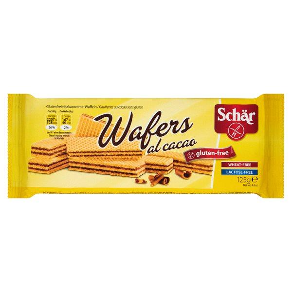 Wafelki z kremem kakaowym Schär