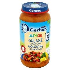 Obiadek Gerber DoReMi Domowy gulasz z warzywami i wołowiną