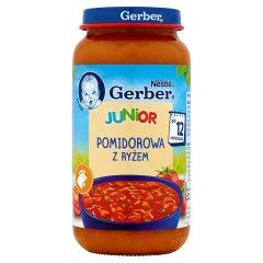 Zupka Gerber Doremi pomidorowa ryżem i pietruszką