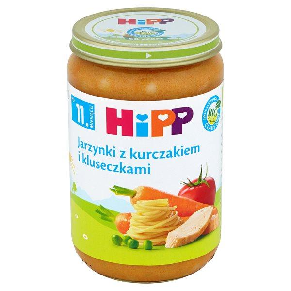 Danie Hipp    jarzynki z kurczakiem i kluseczkami
