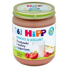Deser Hipp Truskawki i maliny z jogurtem