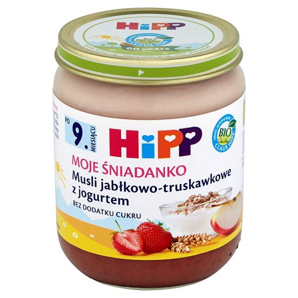 Deser Hipp musli z truskawkami i jogurtem