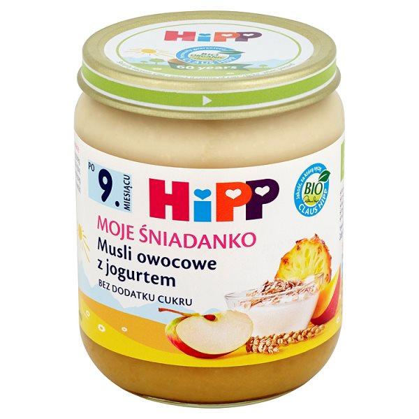 Deser Hipp musli owocowe z jogurtem