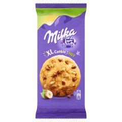 Ciastka Milka z kawałkami czekolady mlecznej i orzechami laskowymi XL