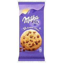 Ciastka Milka z kawałkami czekolady mlecznej XL