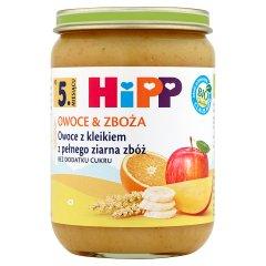 Deser Hipp    kleik z pełnego ziarna zbóż z owocami